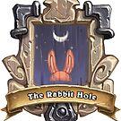 The Rabbit Hole Tavern Sign  by DarkBunnyStudio