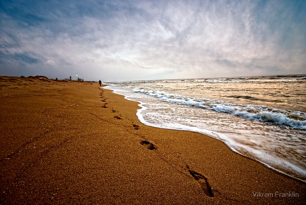 Keep walking by Vikram Franklin