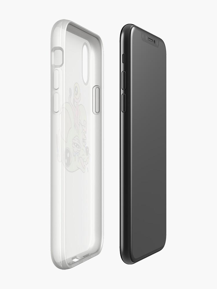 Vista alternativa de Funda y vinilo para iPhone Raton