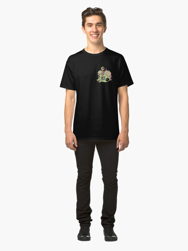 Vista alternativa de Camiseta clásica Raton
