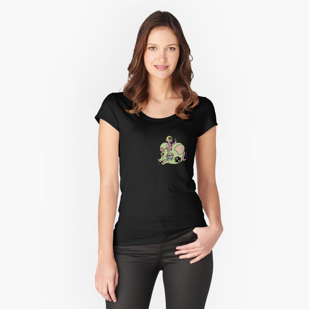 Raton Camiseta entallada de cuello ancho