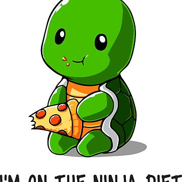 Cute ninja Turtle by FrozenFox