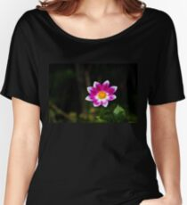 Vivid Flower Relaxed Fit T-Shirt