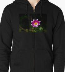 Vivid Flower Zipped Hoodie