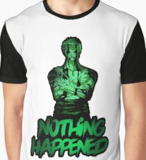 Roronoa Zoro Graphic T-Shirt