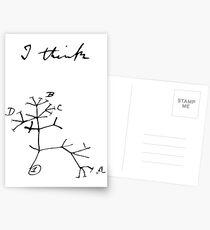 Darwin - Tree of Life - I Think Postcards