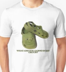 What are you doing in my Shrek Crocs Unisex T-Shirt