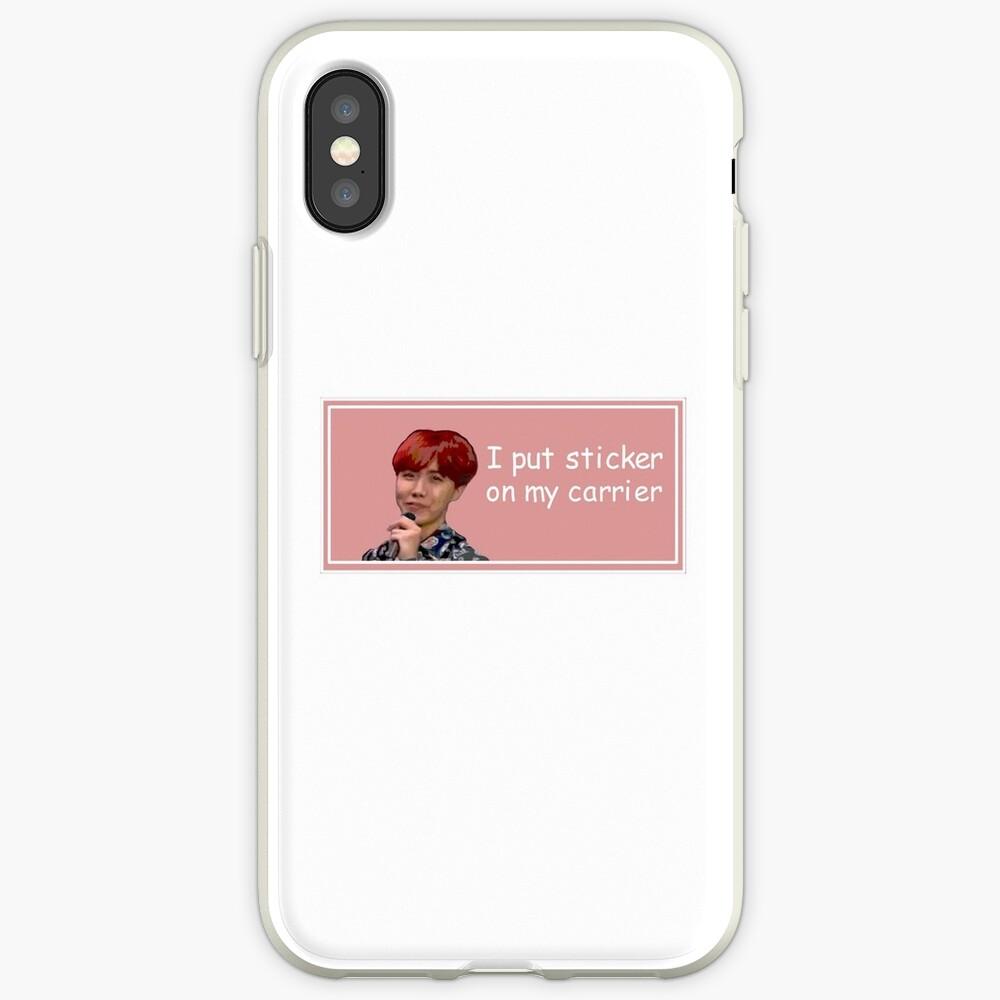 J-Hope Aufkleber iPhone-Hülle & Cover