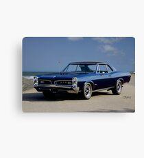 1966 Pontiac GTO II 'American Muscle' Canvas Print