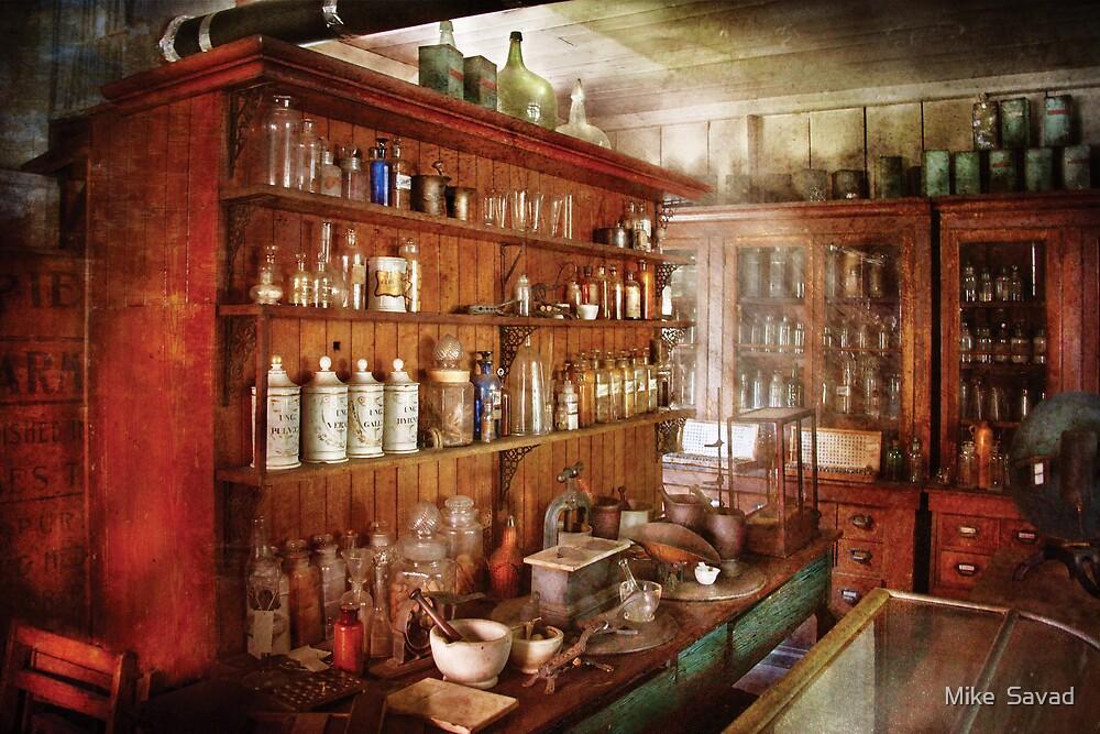 Pharmacist - Behind the scenes  by Michael Savad
