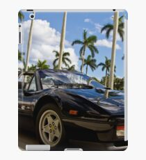 Bright Sports Car on a Sunny Day in Miami iPad Case/Skin