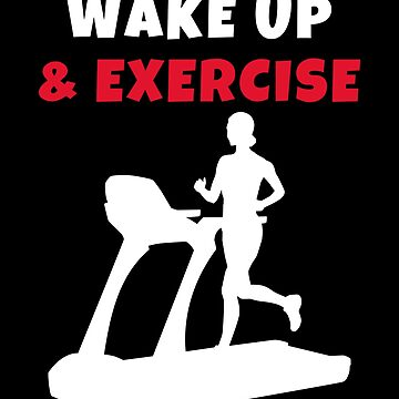 Wake up and exercise Treadmill by we1000