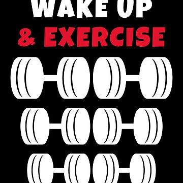 Wake up and exercise Dumbbells by we1000