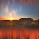 Uluru by Wendy  Slee