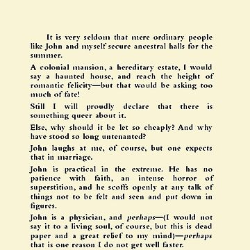 The Yellow Wallpaper Charlotte Perkins Gilman Page One by buythebook86