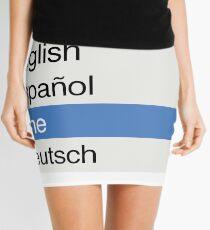 I Speak Vine Mini Skirt