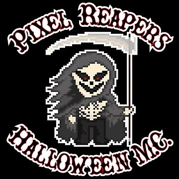 Pixel Reapers Halloween M.C. by gkillerb