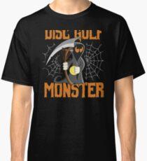 Disc Golf Funny Halloween Grim Reaper Disc Golf Monster Banging Chains Classic T-Shirt