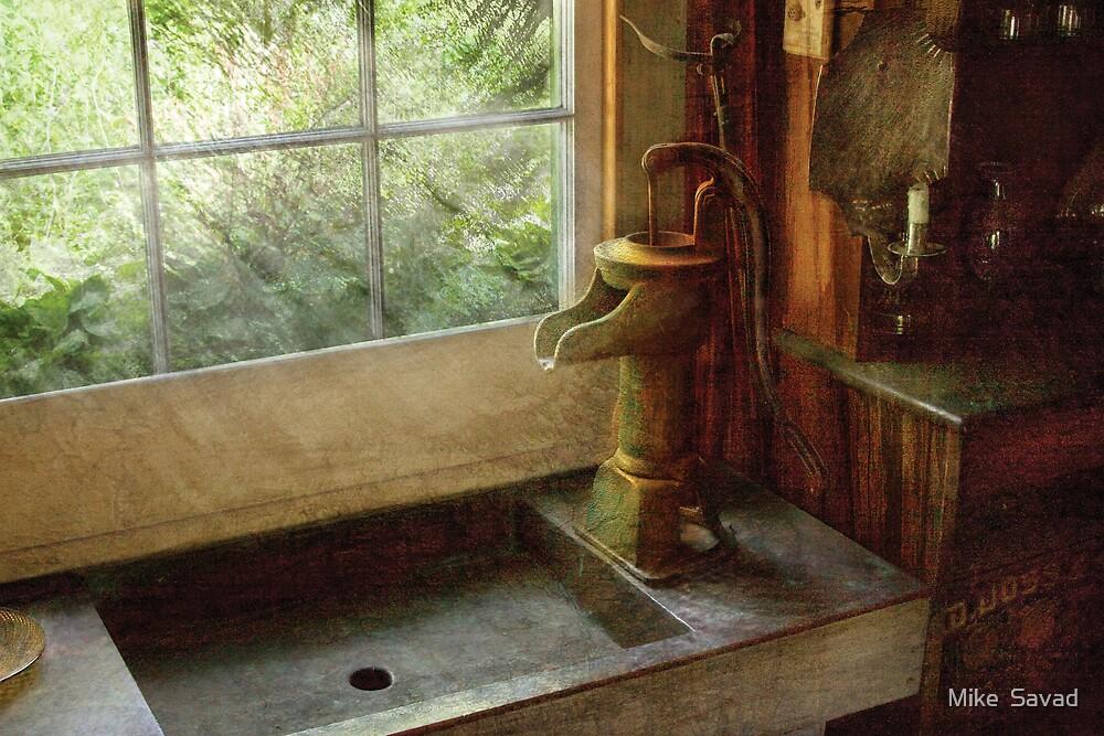 Kitchen - Water Pump by Mike  Savad