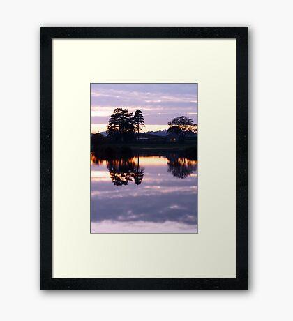 Brechfa Pool (Pwll Brechfa) Framed Print