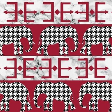 Roll Tide Elephants 3 by CollegeTown