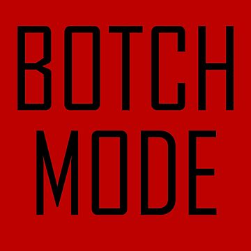 Botch Mode by wrestletoys