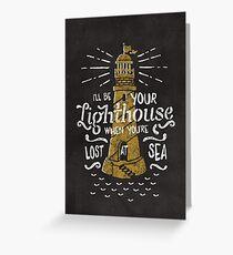 Lost At Sea Greeting Card
