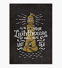 Lost At Sea Photographic Print
