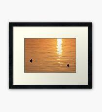 2 lovers Framed Print