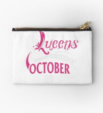 Birthday Real Queens Are Born On October 23 Studio Pouch