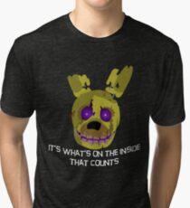 fnaf springtrap Tri-blend T-Shirt