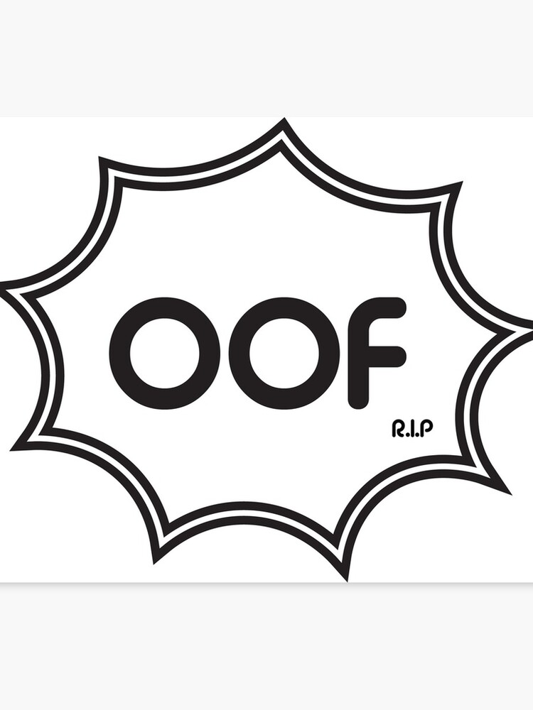 OOF! | Canvas Print