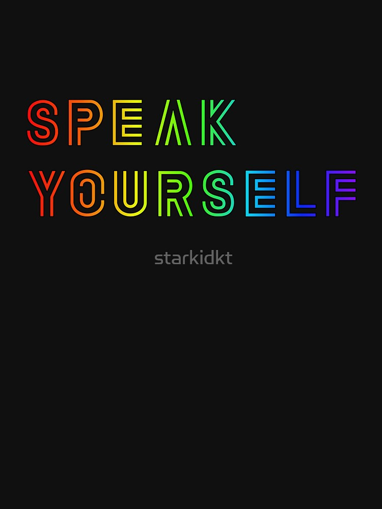 BTS Speak Yourself - Rainbow (mehr Farben erhältlich) von starkidkt