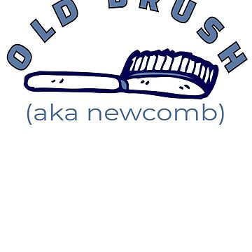 Old Brush - New Comb Design for Newcombs (Design Day 267) by TNTs