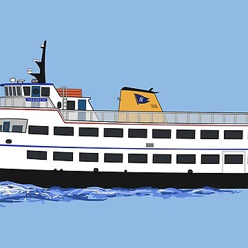 Block Island Ferry - the Nelseco by Deezer509