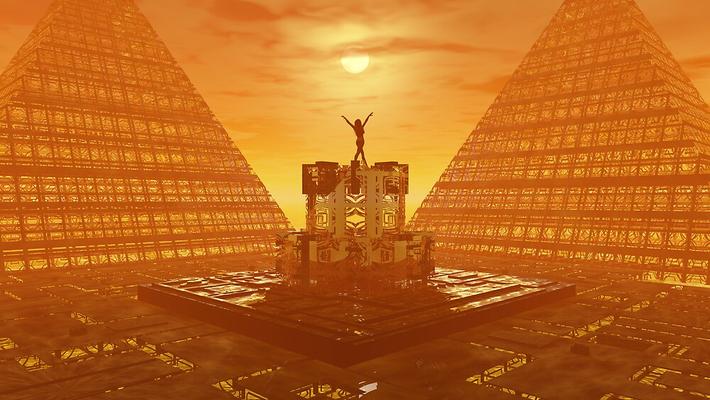 Temple of Ra (Large) by john2477