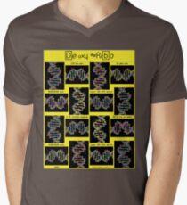 """Sheldon Wears De Oxy Ribo - YELLOW""© Men's V-Neck T-Shirt"