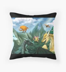 Wings of Fire - Welcome to Jade Mountain Floor Pillow