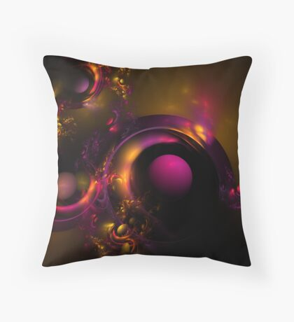 Curvy, Baby! Throw Pillow