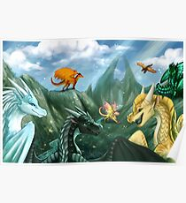 Wings of Fire - Welcome to Jade Mountain Poster