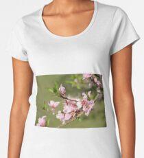 Peach Blossoms  Women's Premium T-Shirt