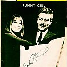 Funny Girl Playbill signed by Barbra Streisand [Mixed Media] by #PoptART products from Poptart.me