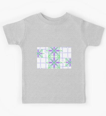 Blooming Squares Kids Clothes
