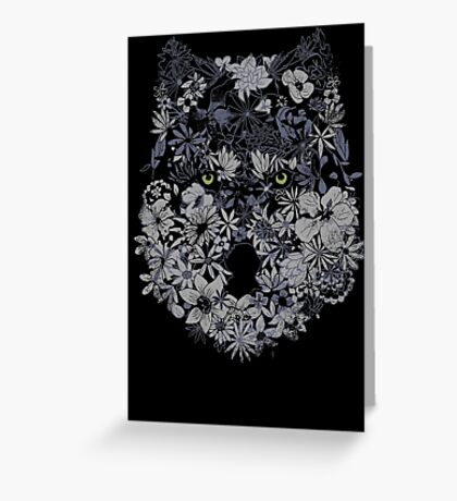 Lupus Herbaceous Greeting Card