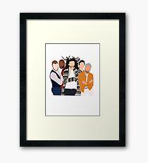 fab five Framed Print