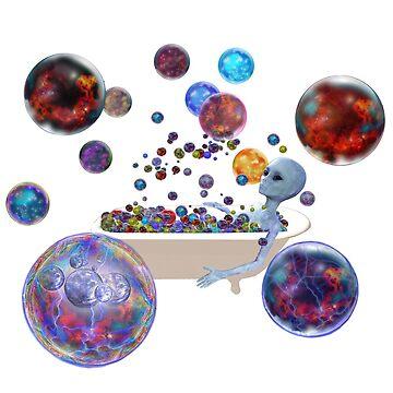 Multiverse Bubble Bath. by ModernCultureNW