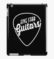 FIVE STAR GUITARS iPad Case/Skin