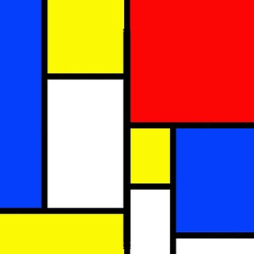 Color Block Pop Art by Greenbaby