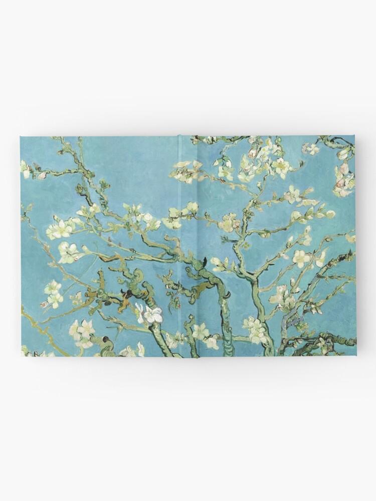 Alternative Ansicht von Van Gogh Mandelblüten Notizbuch