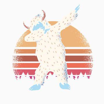 Dabbing Yeti Dab Dance  by Tigarlily
